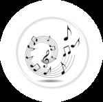 Large SCORE music circle